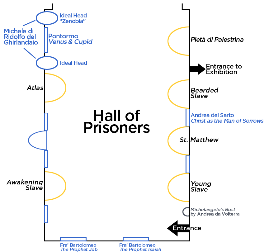 Map of Hall of Prisoners
