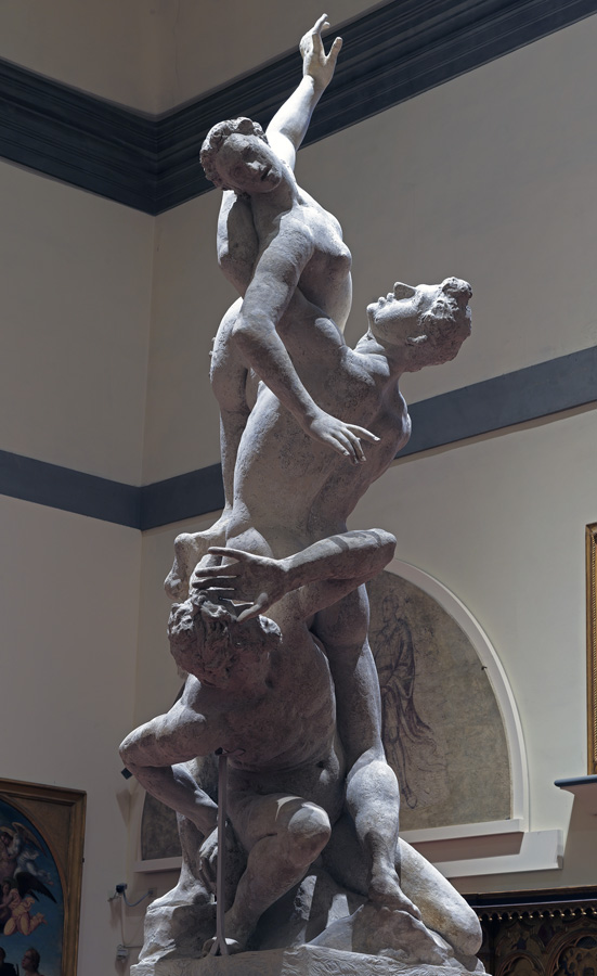 Plaster Cast of the Rape of the Sabines