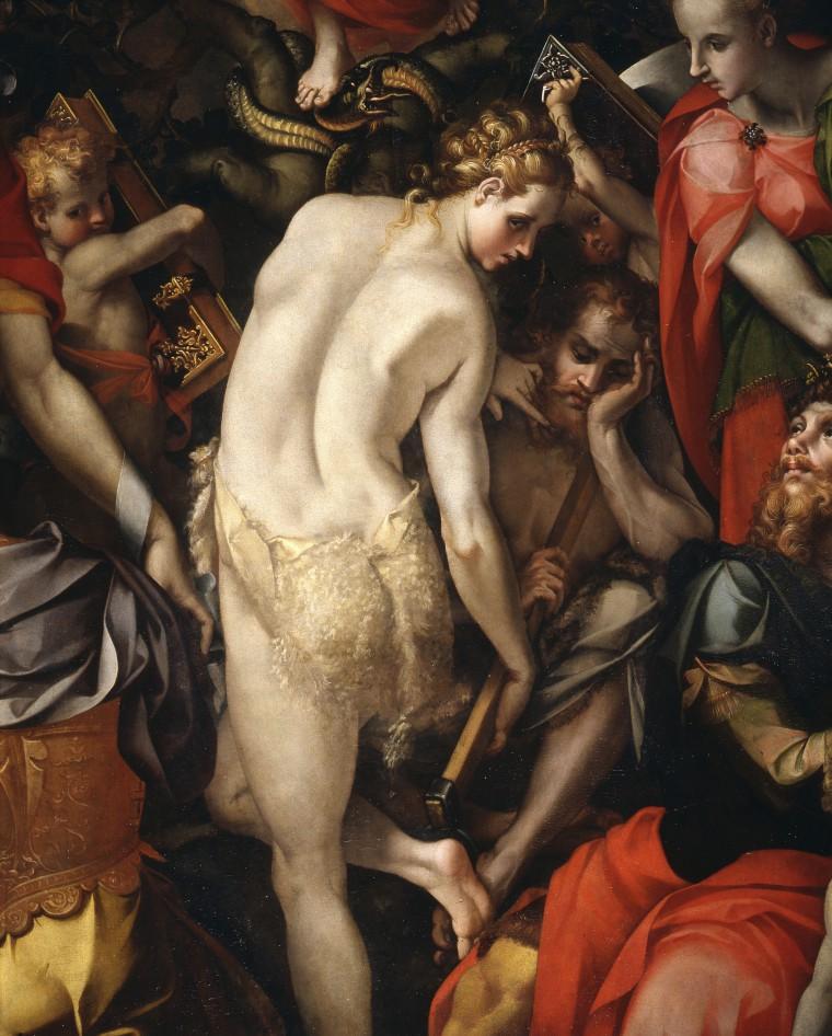 Carlo Portelli Allegoria dell'Immacolata Concezione Firmata e datata 1566 Tavola Firenze, Galleria dell'Accademia