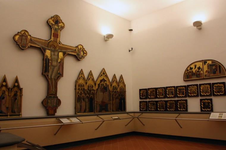 La sala di Giotto