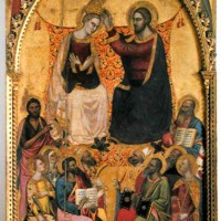 Jacopo di Cione: Incoronation of the Virgin