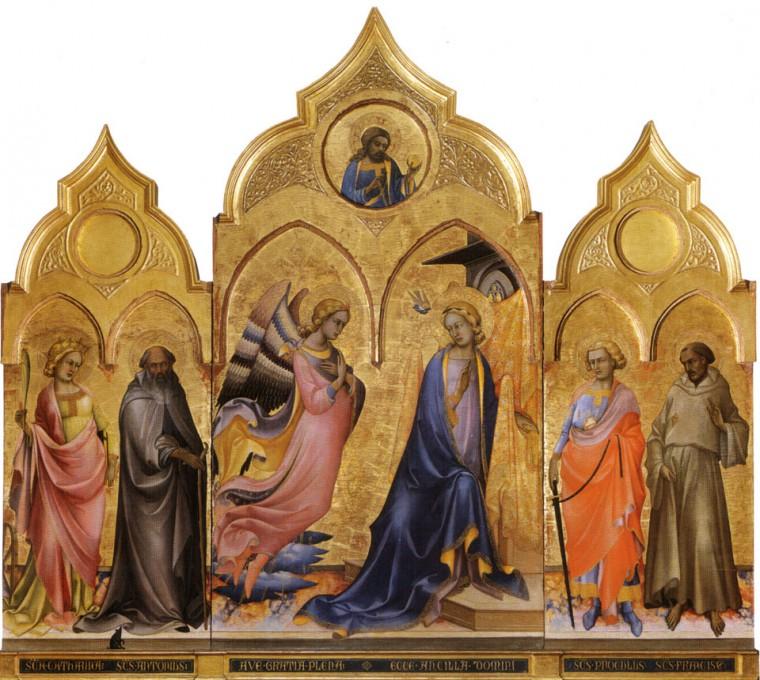 """Lorenzo Monaco, """"Annunciation"""""""